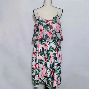 Vince camuto floral/tropical dress